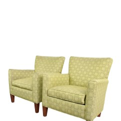 Ethan Allen Recliners Chairs Green Slipper Chair 90 Off Upholstered Accent