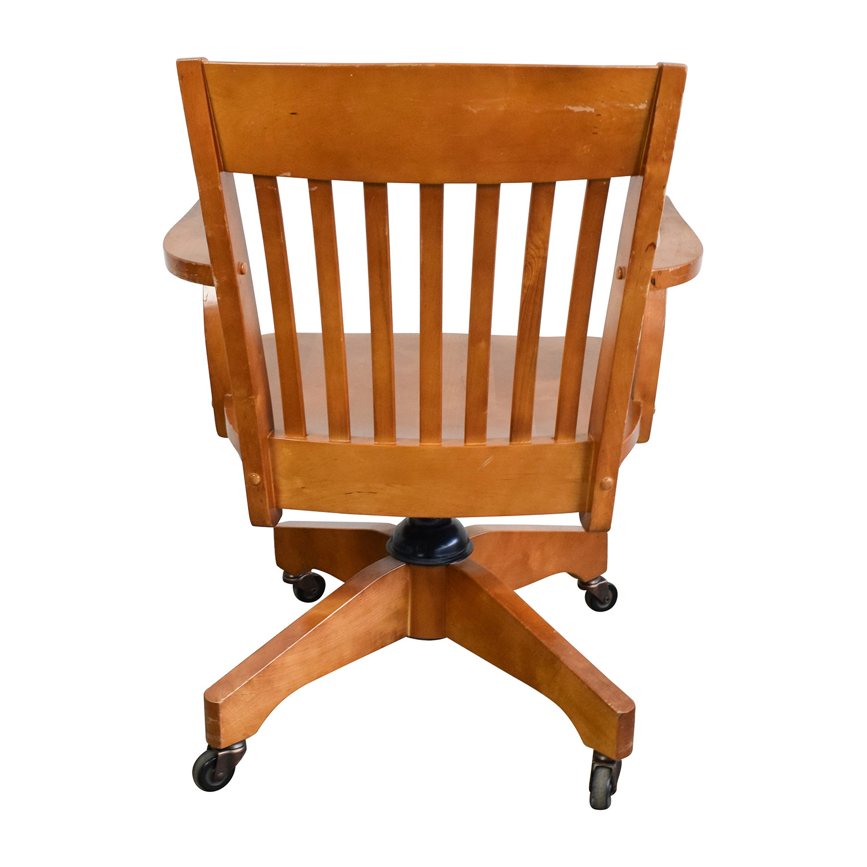 swivel chair pottery barn koala posture 81 off desk chairs