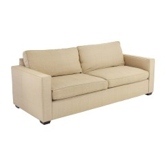 Room And Board Sectional Sofa Bed Mid Century Affordable 65 Off Beige Two Cushion