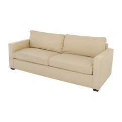 Room And Board Sectional Sofa Bed A Frame 65 Off Beige Two Cushion
