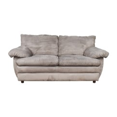 Gray Microfiber Sectional Sofas Twin In Living Room Coupon Code