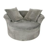 Circular Loveseat Sofa Heal S Sofas Soho At Waltzer Swivel ...