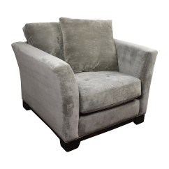 Grey Accent Chair With Arms Chairs Set Of 2 44% Off - Macy's Kenton /