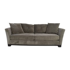 Chloe Velvet Tufted Sofa Living Room Furniture Collection Brown Leather Corner Recliner Macys Kaleb
