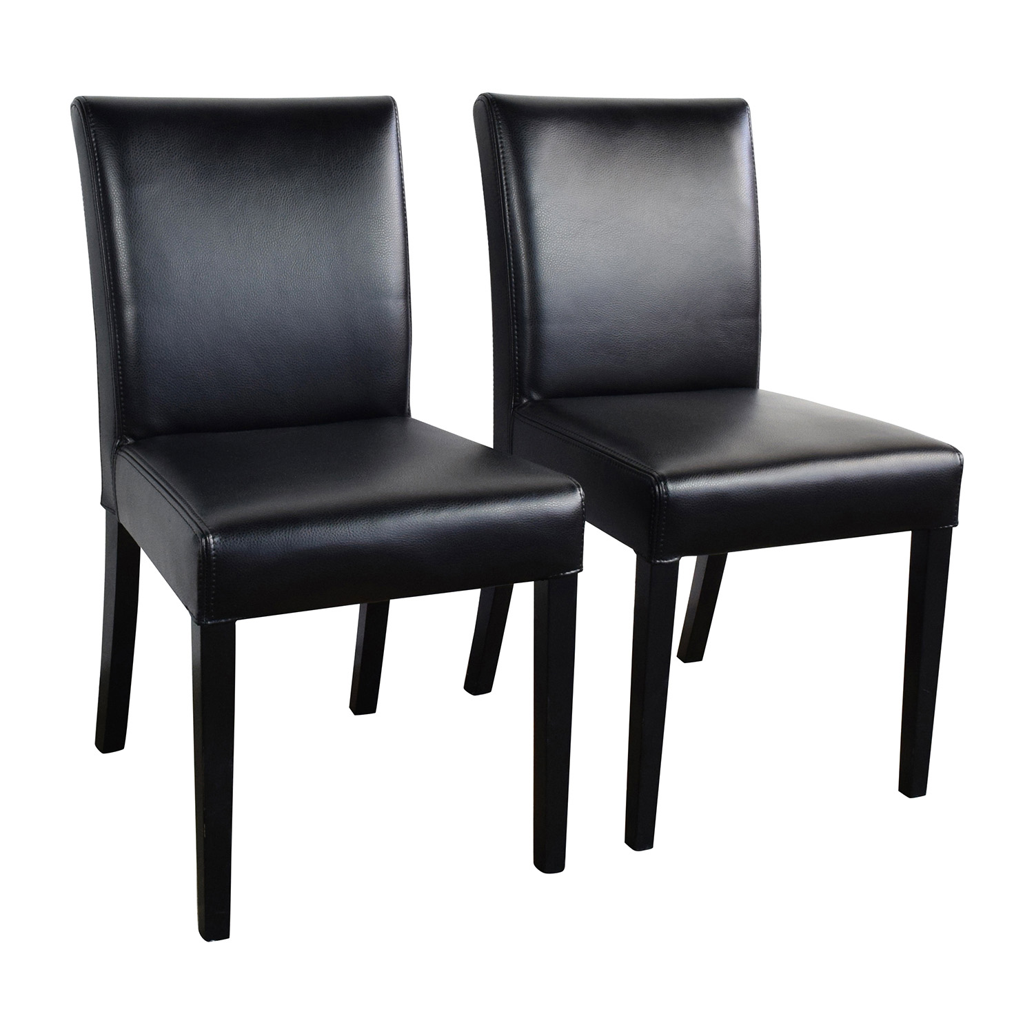 black barrel chair crate and dining chairs canada 47 off lowe onyx