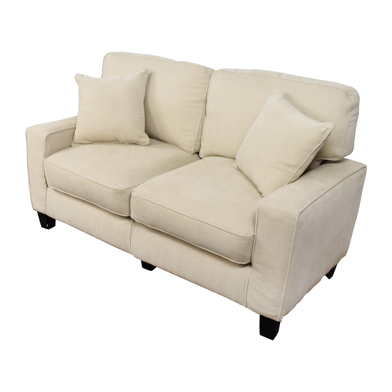 39 OFF  Target Target Tan Loveseat Sofa  Sofas