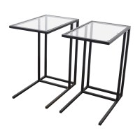 ikea glass top table 67 off ikea ikea glass end tables tables
