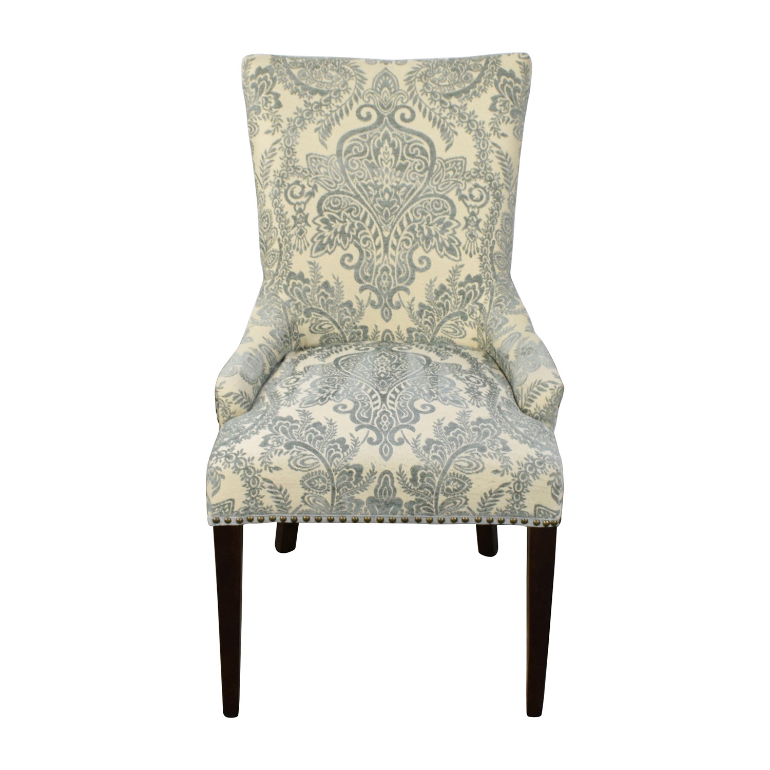 pier one blue accent chairs office chair no back 74 off 1 imports adelle collection