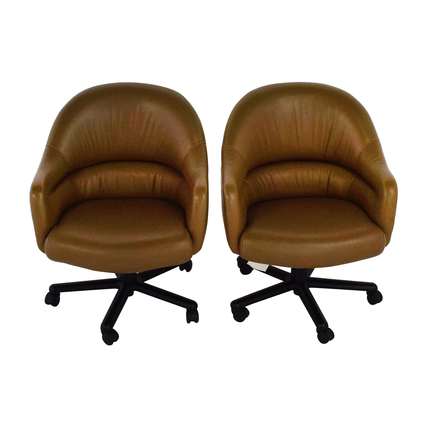 leather slipper chair chocolate bathroom vanity accent chairs used for sale