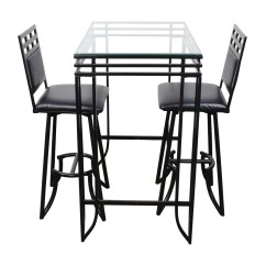 Counter High Chairs Camp With Canopy Dining Sets Used For Sale
