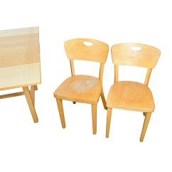 Four Chairs Furniture Iron Peacock Chair 68 Off Ikea Side Extendable Dining Table And