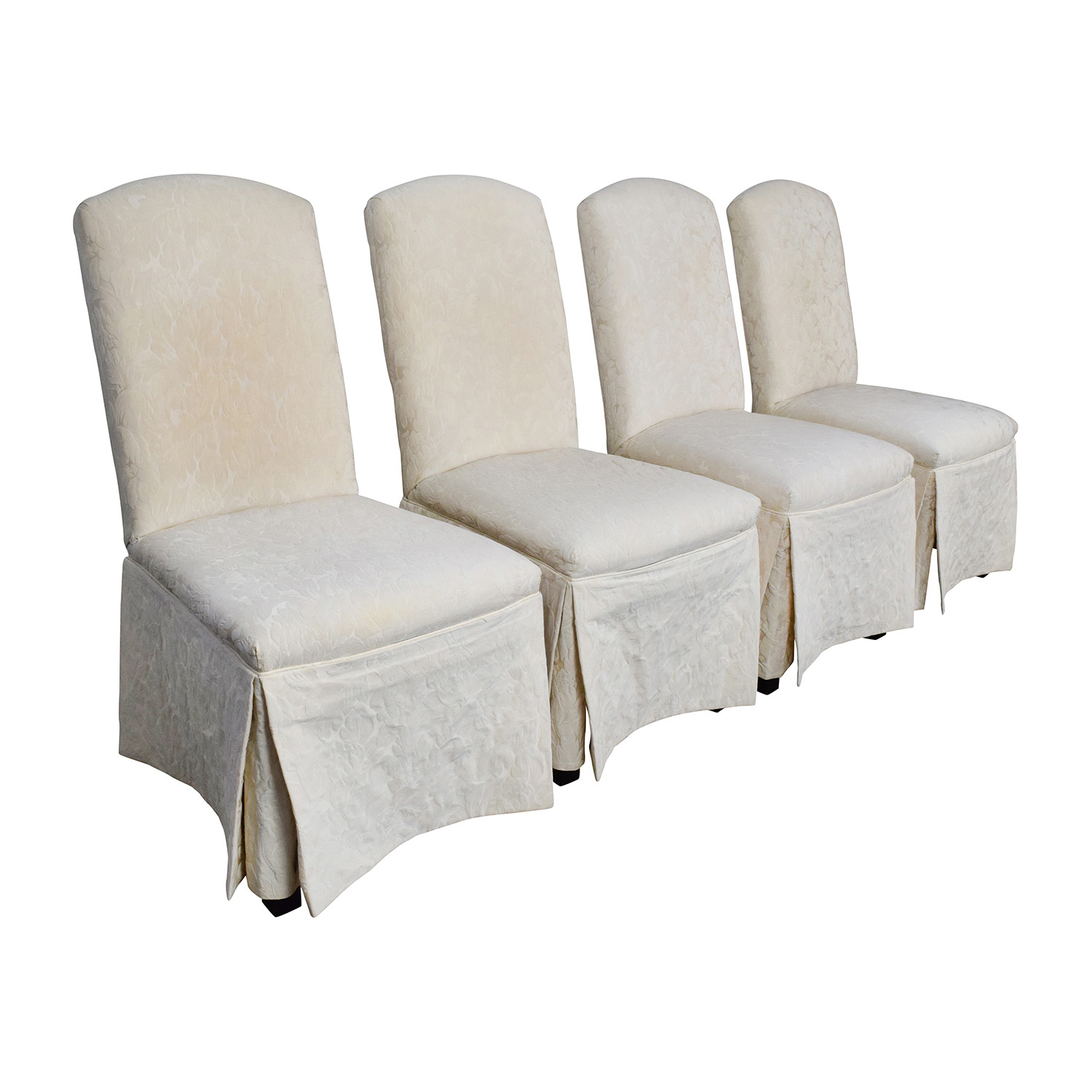 Ivory Dining Chairs 90 Off Thomasville Thomasville Ivory Upholstered Dining