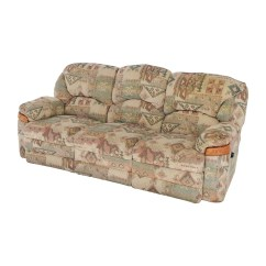 Sofas And Recliners Schnadig Sofa Set 82 Off Patterned Fabric Recliner