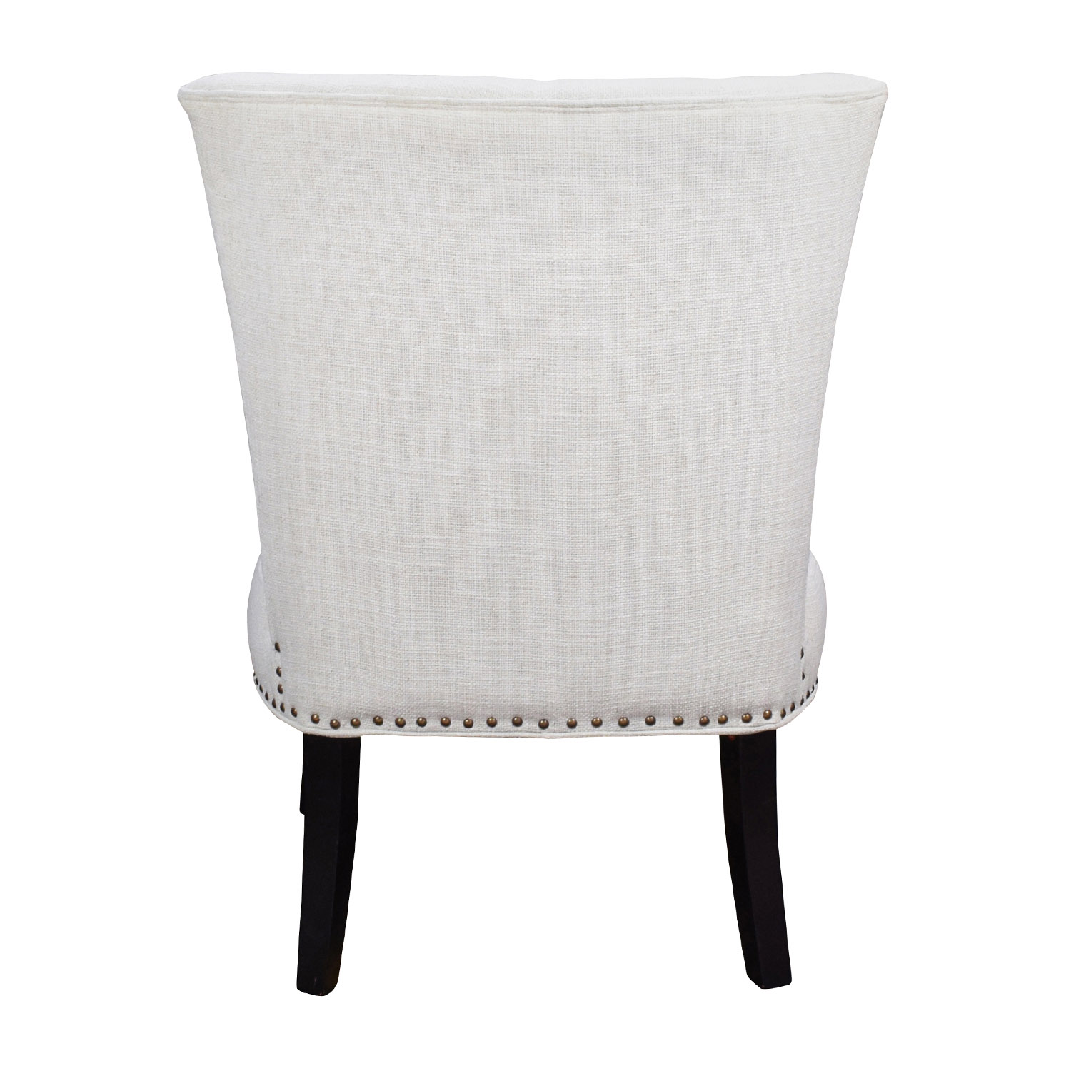 white tufted chairs sofa chair covers target 66 off unkown accent