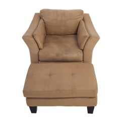 Brown Accent Chair With Ottoman Infinity Massage Reviews 48 Off Jennifer Convertibles Convertible
