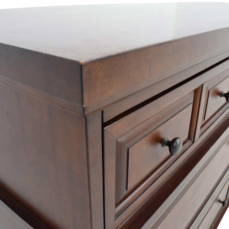 pier 1 imports dining chairs outdoor wedding chair rentals 66% off - ashworth chestnut dresser / storage