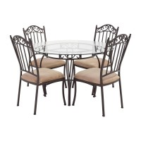 wrought iron dining table and chairs - 28 images ...