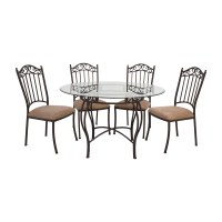 Wrought Iron Round Dining Table - Dining Table and Alarm ...