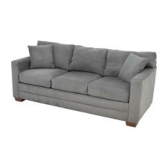 Jensen Lewis Sleeper Sofa Price Single Sofas 72 Off Dark Grey Microsuede