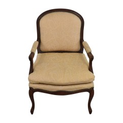 Floral Upholstered Chair Office Star Task 75 Off Gold Jacquard Studded Accent