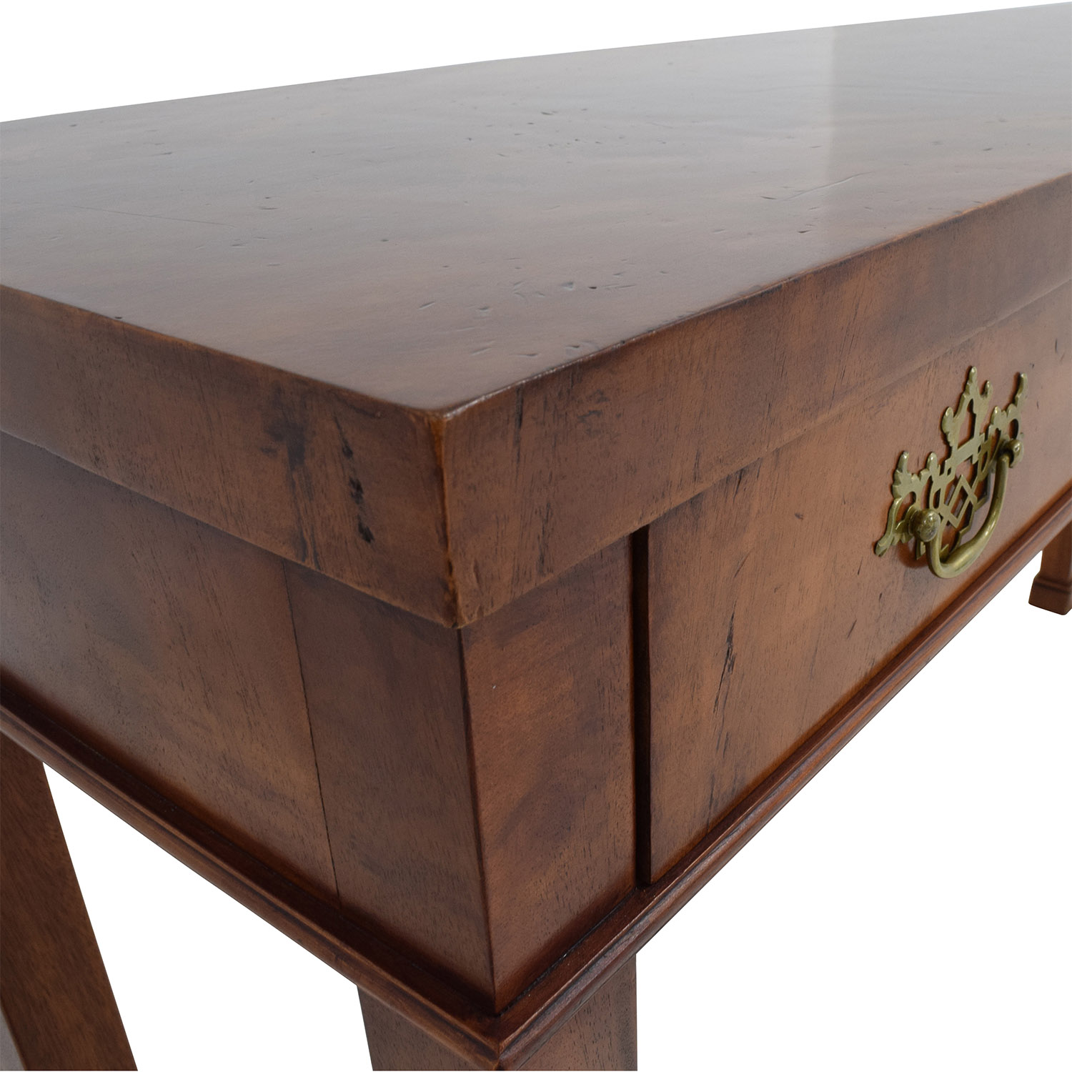 custom made sofa tables leather nailhead set 90% off - two-drawer wood table /