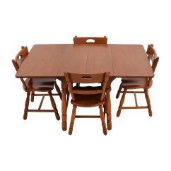 Maple Dining Room Chairs Black Wire Chair Uk Table And Elegant Brown