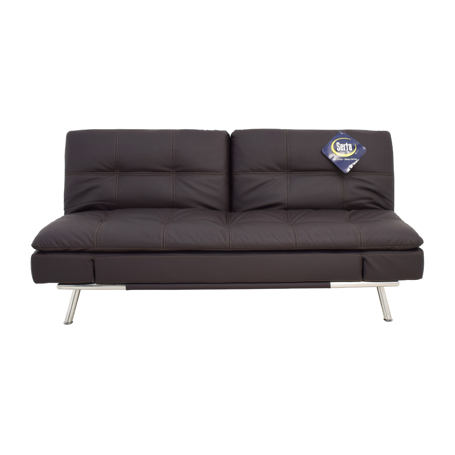 serta meredith convertible sofa reviews crypton cover sleeper shelby queen size in