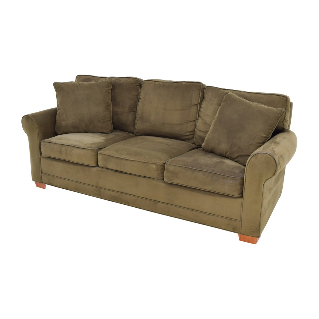 Fresno Microfiber Queen Sleeper Sofa Catosfera Net