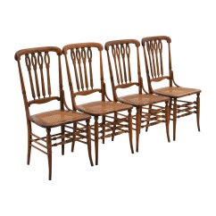 Cheap Hand Chair Outdoor Reclining Chairs 52 Off Antique Cane Weaved Wood Dining