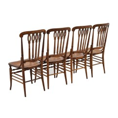 Vintage Wooden Dining Chairs Crushed Velvet Chair Covers Uk 52 Off Antique Cane Weaved Wood