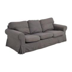Ikea Gray Brown Sofa Table Corner Bed Uk Tesco 53 Off Ektorp Grey Skirted Sofas