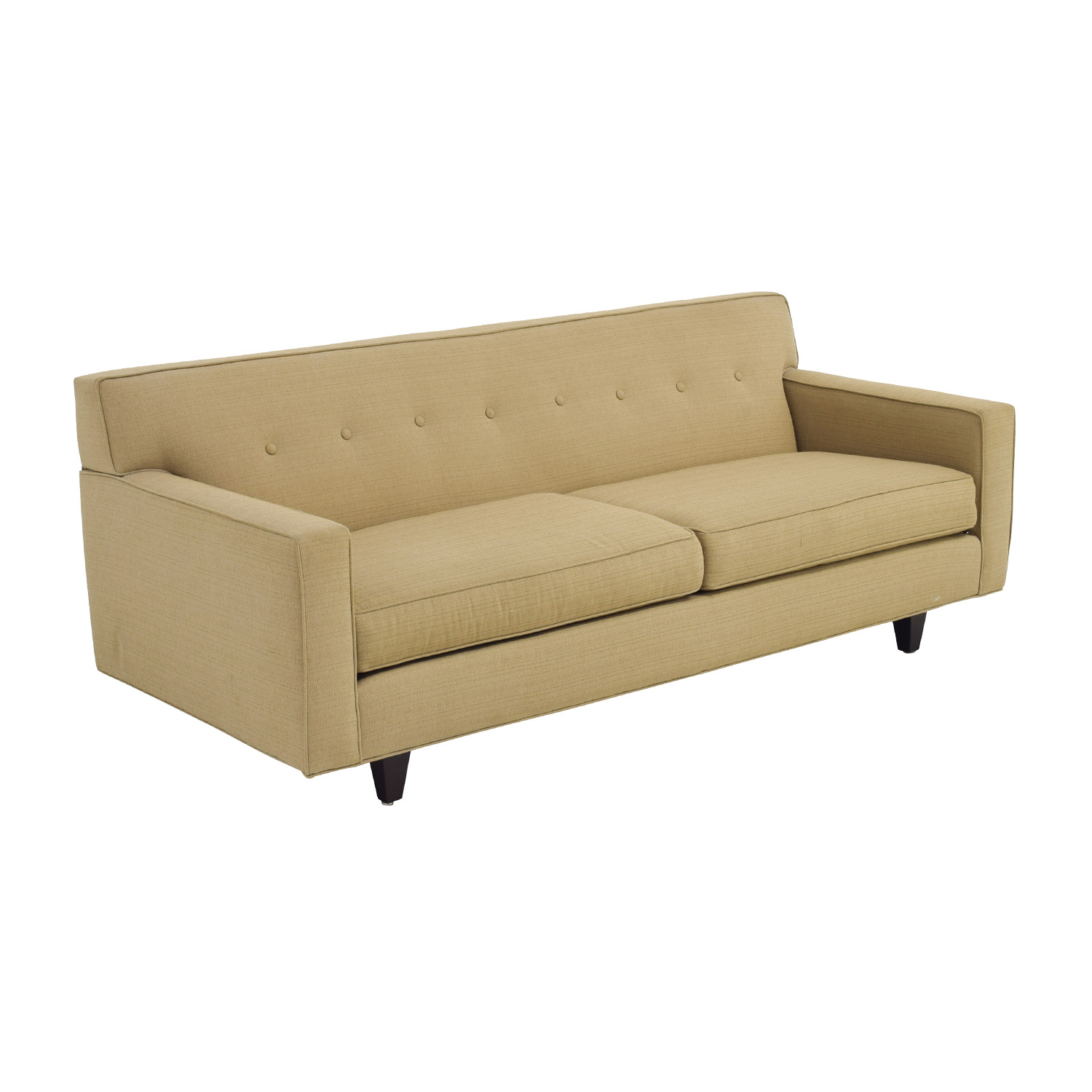 oatmeal sofa where to buy pillows 49 off rowe furniture contemporary