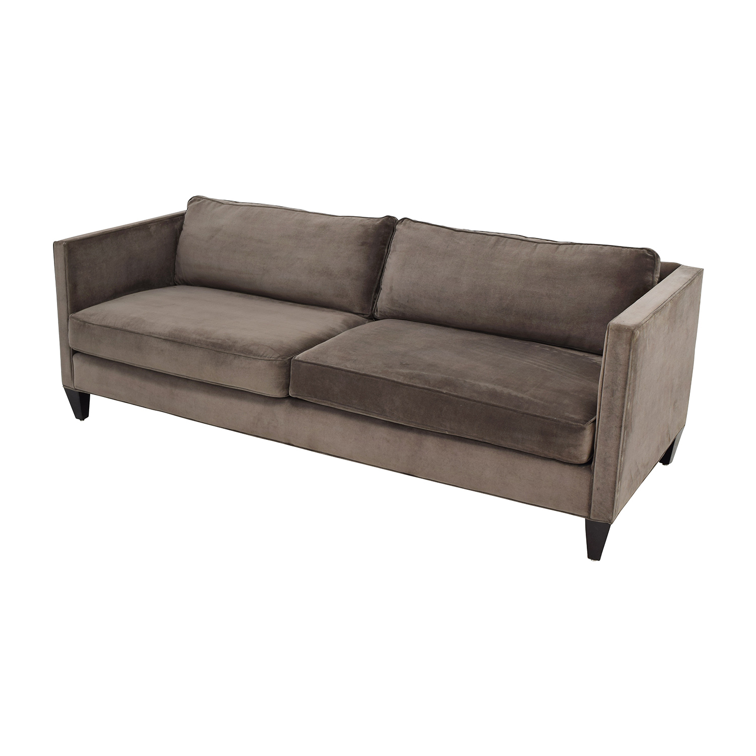furniture row sofa black houndstooth 77 off rowe mitchell brown two