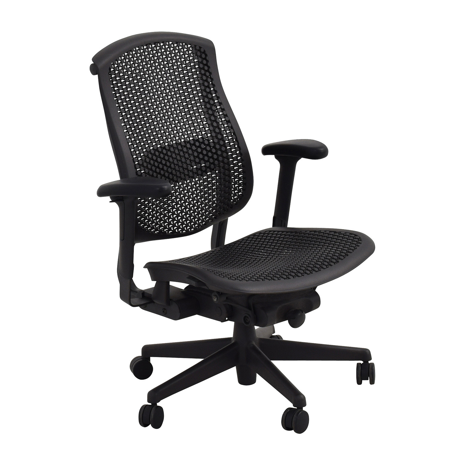 desk chair herman miller baby sit up 52 off biomorph ergonomic