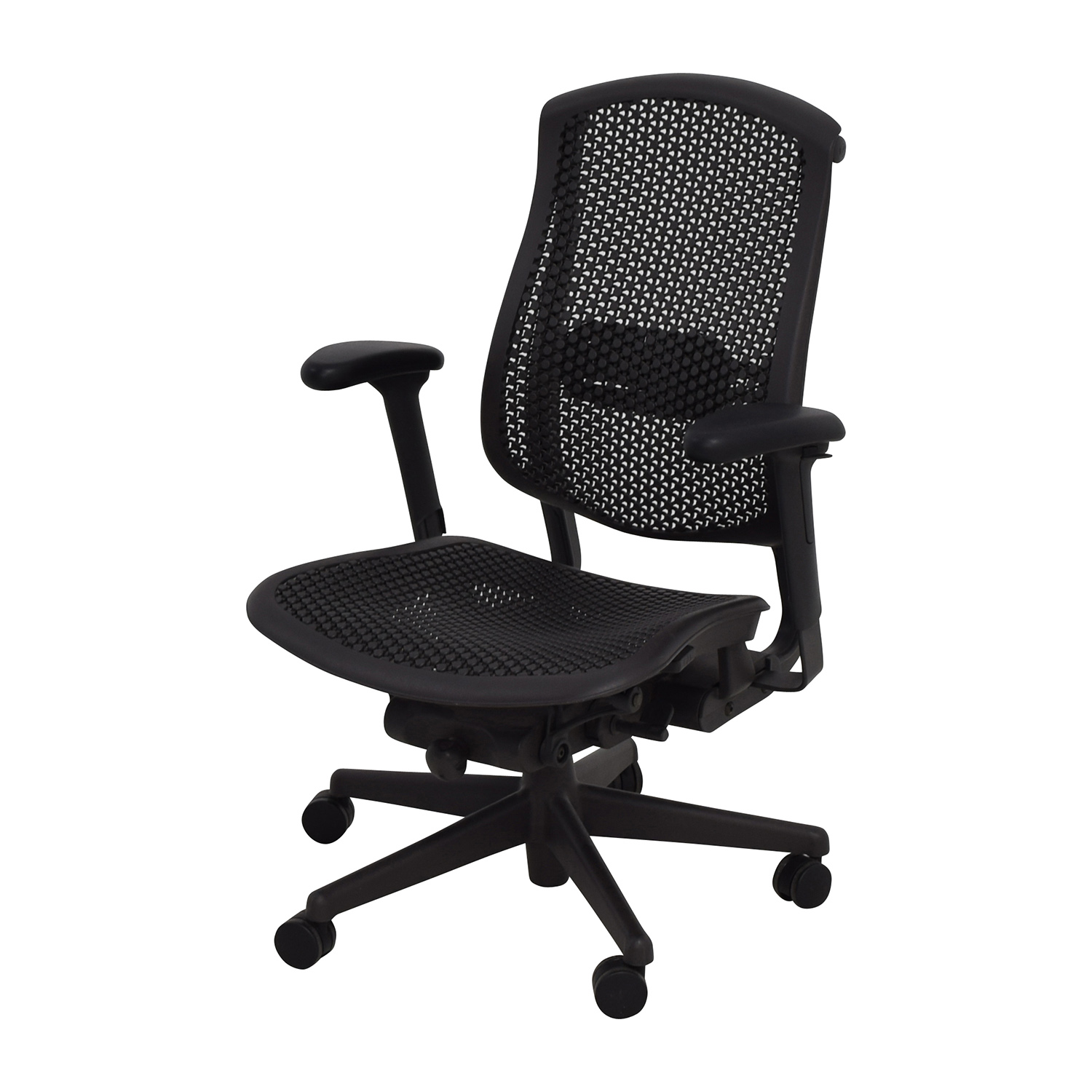 desk chair herman miller 2 chairs tattoo 52 off biomorph ergonomic