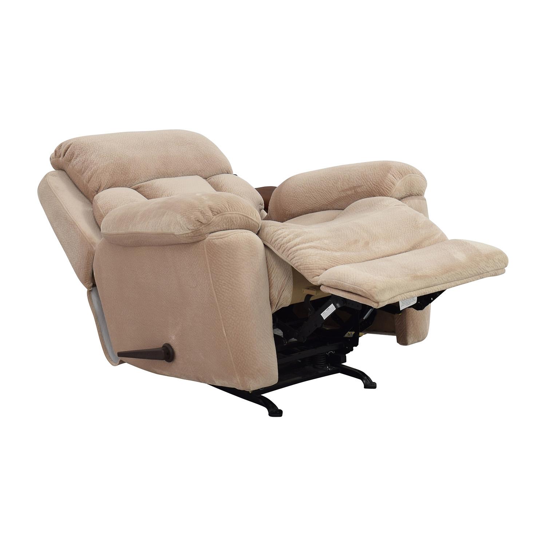 cheap hand chair reclining office target 73 off jennifer furniture beige