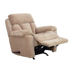 Used Recliner Chairs Leather Harvey Norman 73 Off Jennifer Furniture Beige