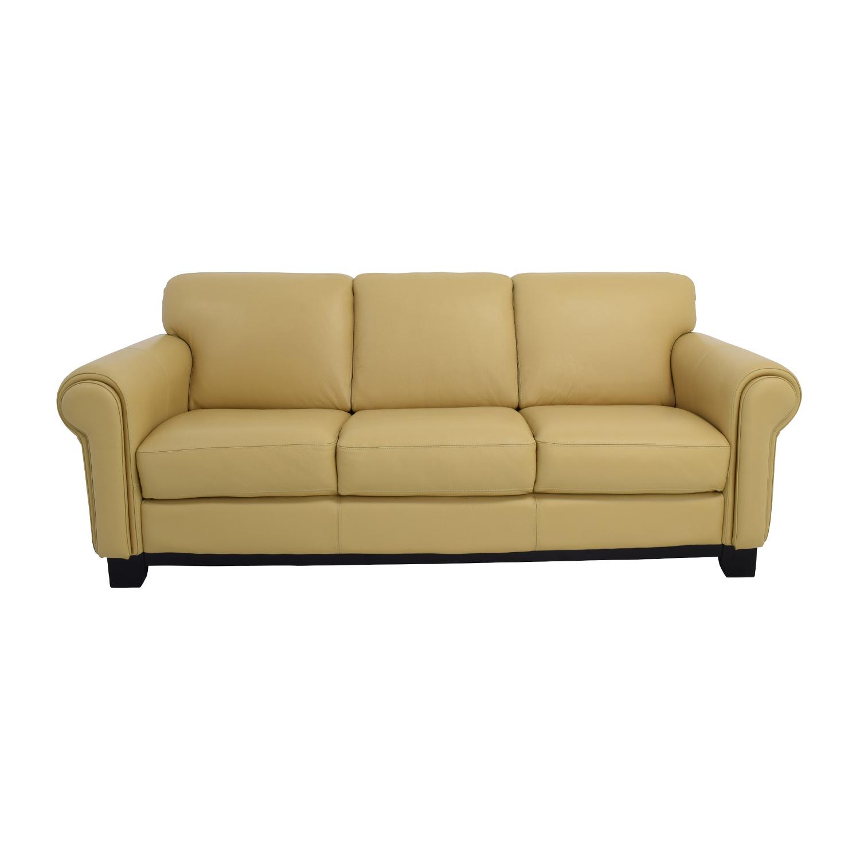 macys leather sofa sale low ikea bauhaus used on a budget