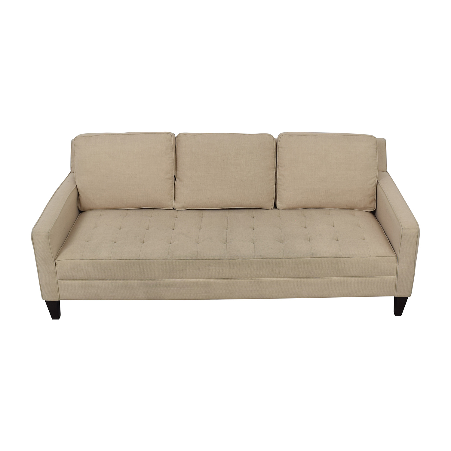 single cushion sofa pros and cons chandler 69 off crate barrel simone daybed