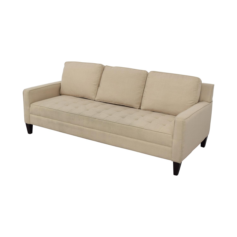 Single Cushion Sofa