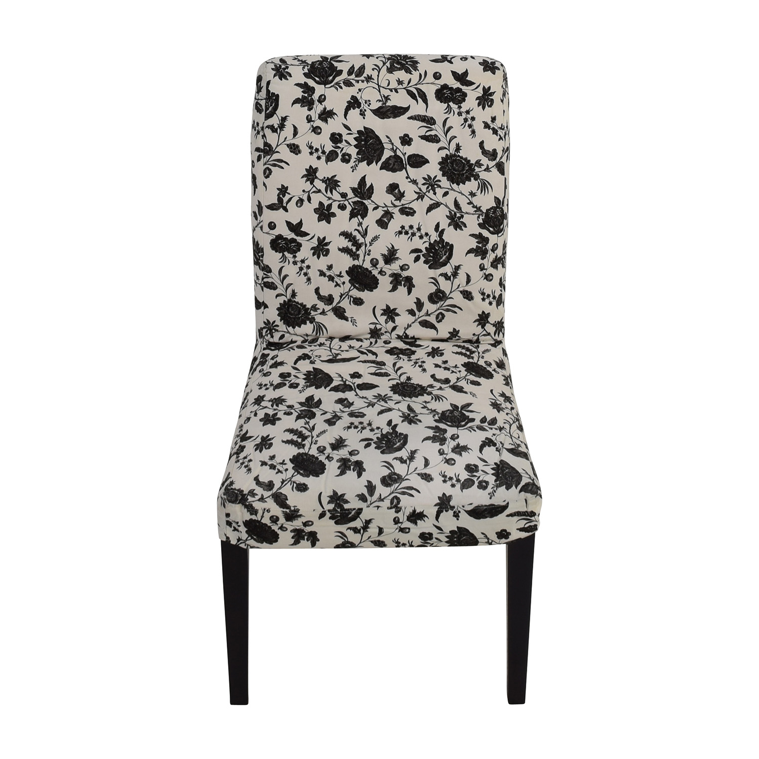 black white dining chair cost plus chairs rooms to go second hand on a budget