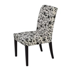 Black White Dining Chair Shower Walmart 77 Off And Floral Chairs