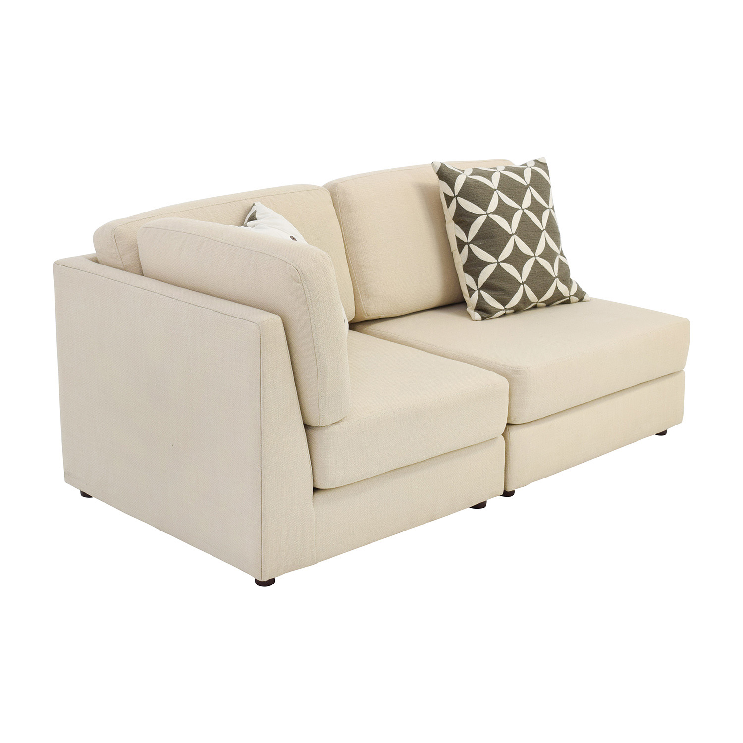 marco cream chaise sofa by factory outlet mattress warehouse 76 off west elm or two