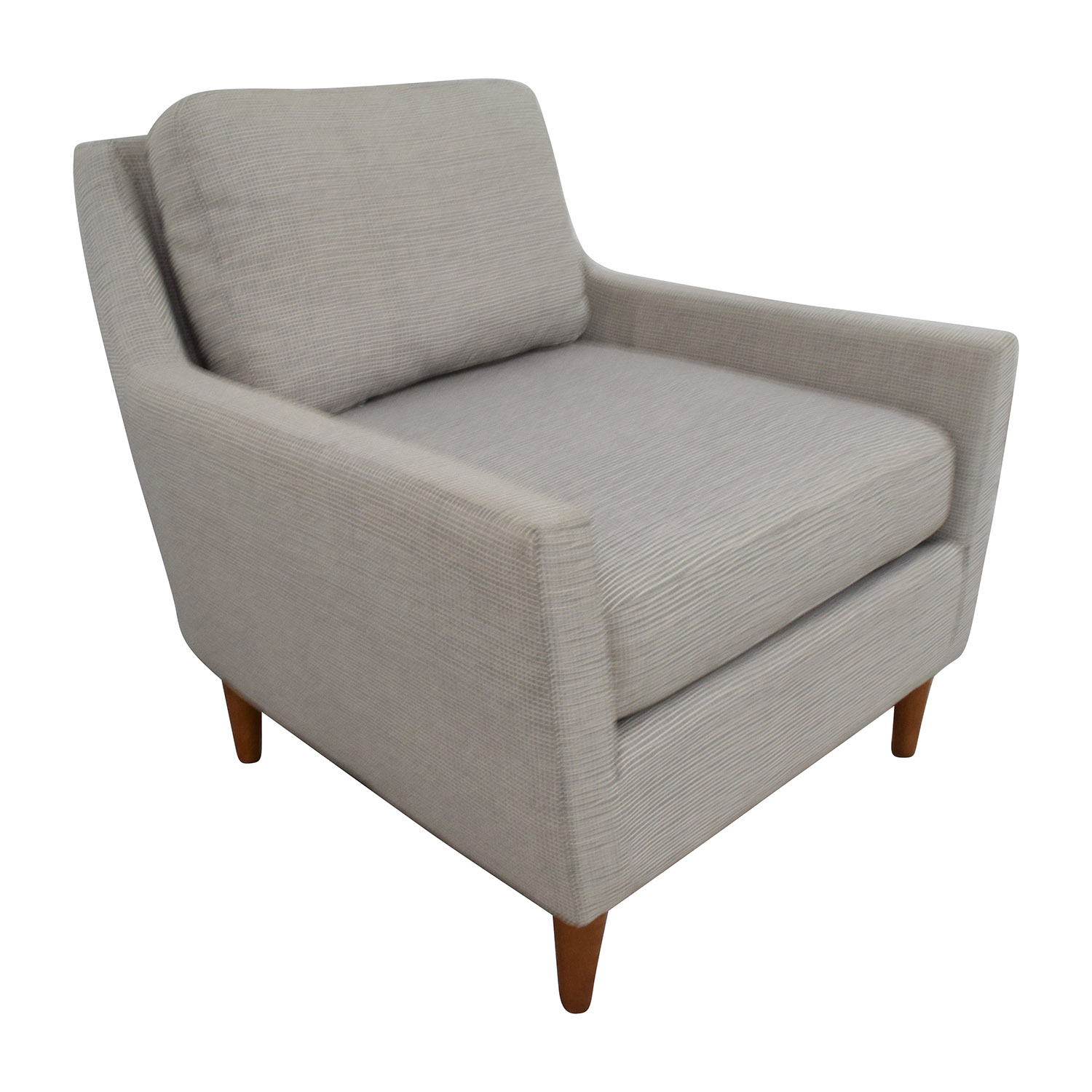 west elm everett chair captains 66 off grey sofa chairs