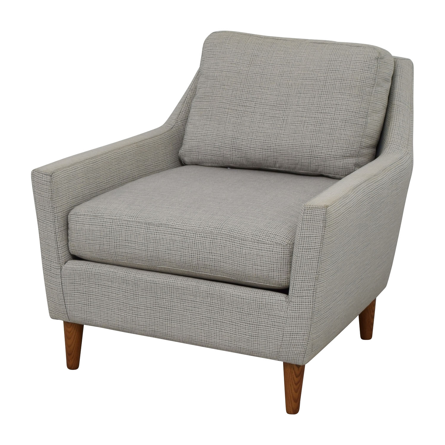 west elm everett chair healthy chairs offices 66 off grey sofa