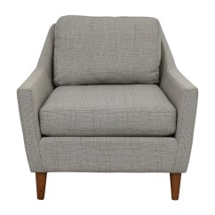 West Elm Everett Chair High Alternatives For Toddlers 66 Off Grey Sofa Chairs Sale