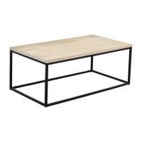 28% OFF - West Elm West Elm Box Frame Coffee Table White ...