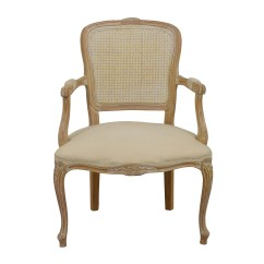 French Provincial Adele Occasional Chair Big Bean Bag Chairs For Kids Mahogany Cream Coupon Code