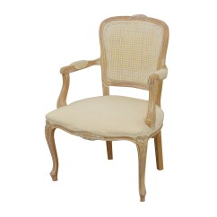 French Provincial Adele Occasional Chair Kelly Green Sashes 68 Off Link Taylor Creme