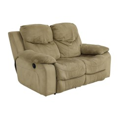 Bobs Furniture Sofa Recliner Pattern For Cushion Covers 75 Off Bob 39s Grey Dual